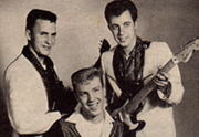 First Band - 'The Fairlanes' - circa-1956 Ottawa Terry Carisse (center)