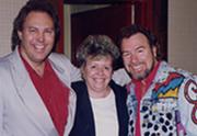 Terry & Aija Carisse with Gene Watson (circa 1996)