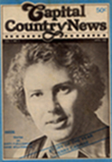 CAPITAL COUNTRY NEWS - Cover Story April, 1980 - 'The Story Of The Year'   Significant in that this was the inaugural issue of Capital Country News, (April, 1980)  which became COUNTRY MUSIC NEWS (1982).   It was also Terry Carisse's first-ever 'cover story' in a magazine.